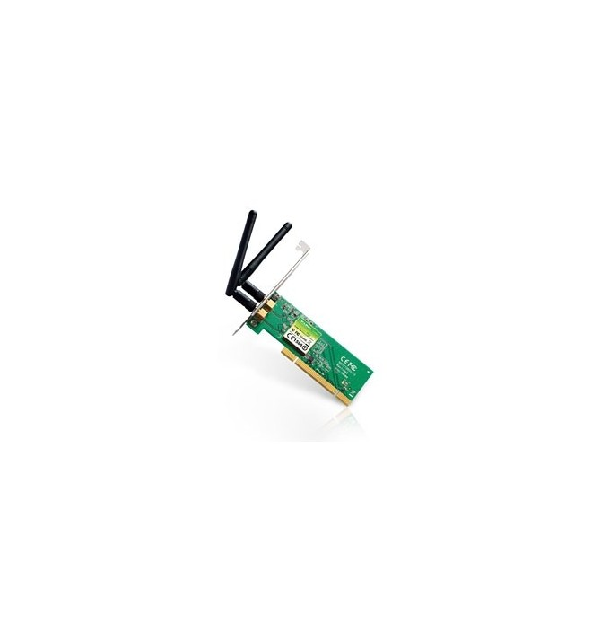 Adaptoare wireless 5891 Placa Retea Wireless PCI 300Mbps TL-WN851ND TP-LINK