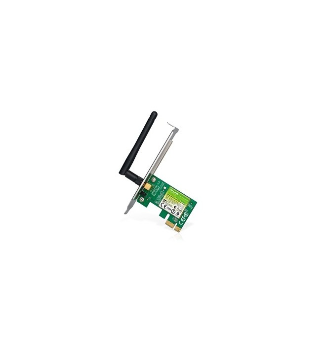 Adaptoare wireless 5893 Placa Retea Wireless PCIe 150Mbps TL-WN781ND TP-LINK