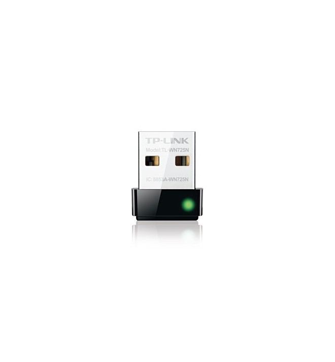 Adaptoare wireless 5898 Placa Retea Nano Wireless USB 150Mb/s Lite-N TL-WN725N TP-LINK