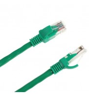 Patch cord cat 5e 1 m verde Intex