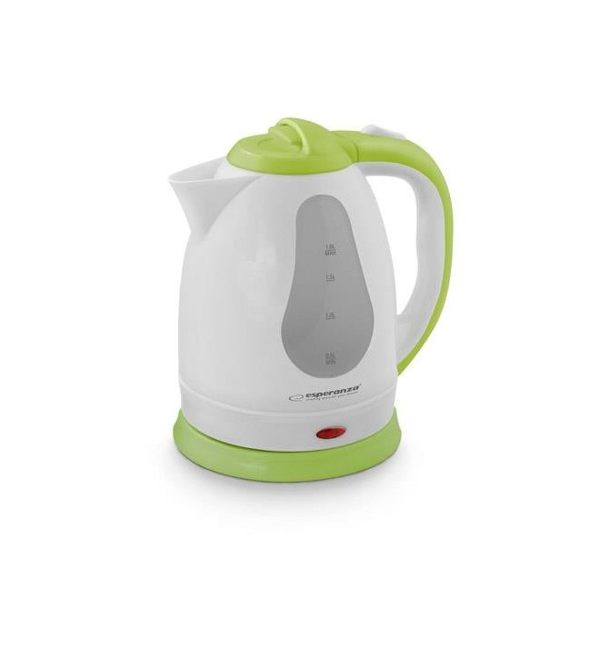 Fierbator electric Esperanza Virginia putere 1800 W capacitate 1.8 l verde