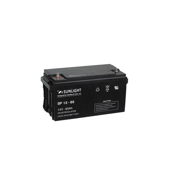 Acumulator stationar 12V 65Ah Sunlight