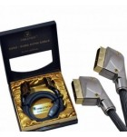 Cablu Scart-Scart Cabletech 1.8 m Gold Edition